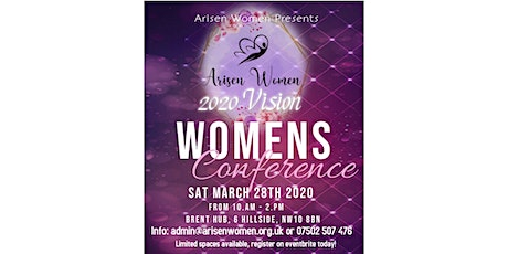 Arisen Women Conference 2020 VISION tickets