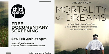 FREE Documentary Viewing of Mortality of Dreams tickets