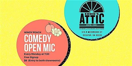 Eddie's Attic Comedy Open Mic tickets