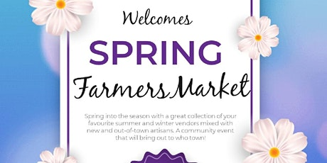 Spring Farmers Market tickets