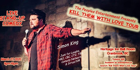 Kill Them with Love Tour - Cranbrook tickets