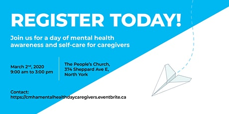 Mental Health Day for Caregivers tickets