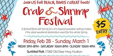 SunWest Crab & Shrimp Festival tickets