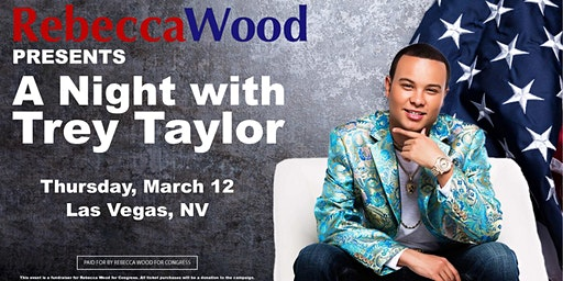 Trey Taylor Concert & Fundraiser with Rebecca Wood