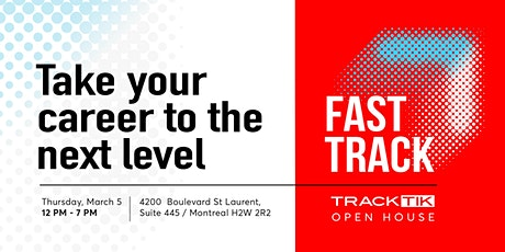 FastTrack: TrackTik's Open House tickets