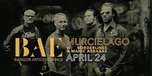 Murcielago w/ Borderlines & Manic Abraxas at the Bangor Arts Exchange