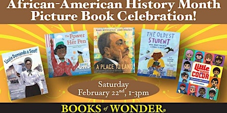 African-American History Month Picture Book Celebration! tickets
