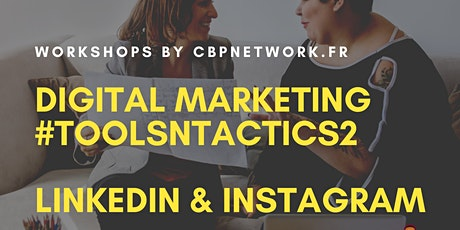 Digital Marketing #Toolsntactics - LinkedIn | Instagram billets