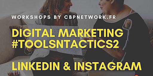 Digital Marketing #Toolsntactics - LinkedIn | Instagram