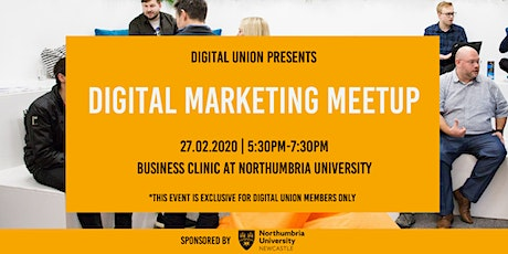 Digital Marketing Meetup - Members Only tickets