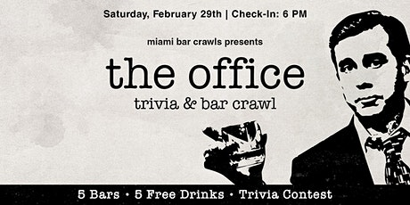 The Office Trivia & Bar Crawl in Miami tickets