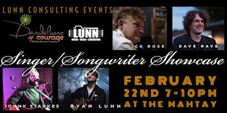 LUNN Singer Songwriter Showcase #2 tickets