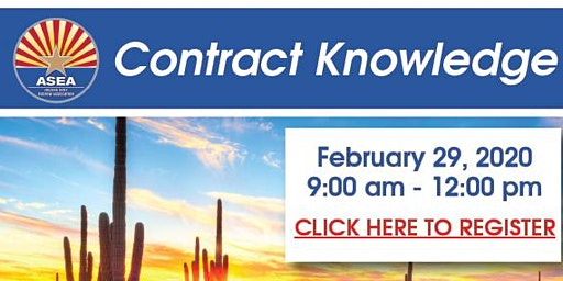 Contract Knowledge Class February, 2020
