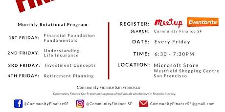 Financial Fitness - Retirement Planning  - Community Finance SF - Feb 28 tickets