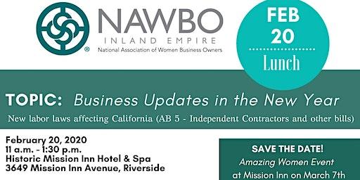 NAWBO-IE February 2020 Meeting