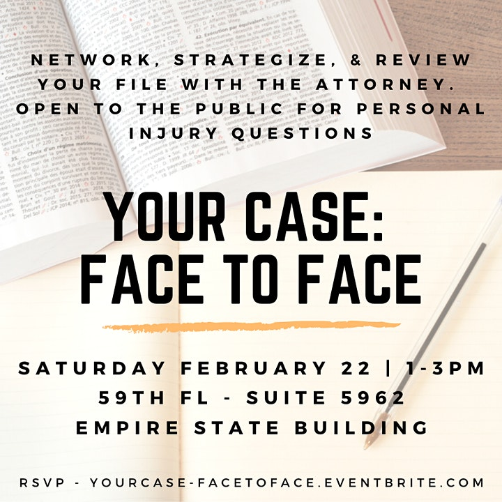 Your Case: Face to Face image
