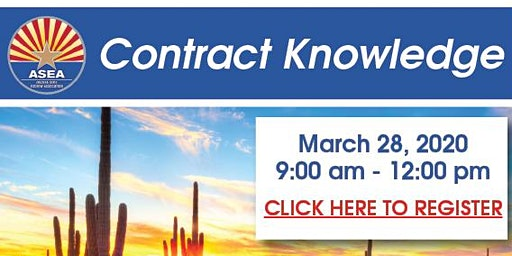 Contract Knowledge Class March, 2020
