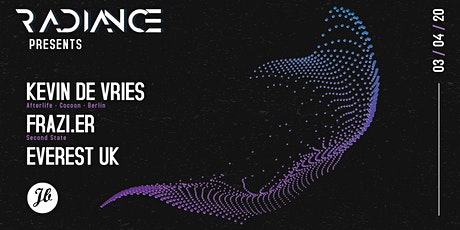 [RESCHEDULED] RADIANCE presents Kevin De Vries & Frazi.er tickets