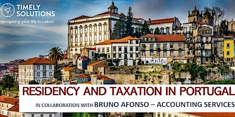 Residency and Taxation in Portugal | Q&A Session tickets