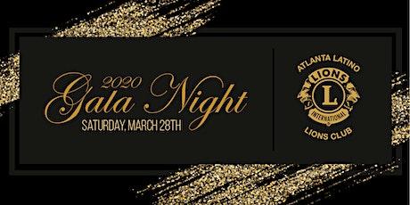 2020 Gala Night tickets
