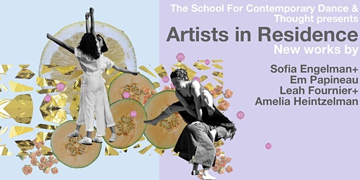 SCDT Artists In Residence NEW WORKS