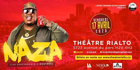 NAZA de retour à Montréal billets