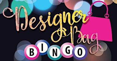Designer Bag BINGO! Ticket includes 10 games (3 on) and bingo dauber