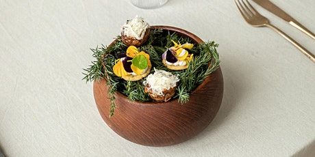 """Social Fine Dining Experience  """"Late winter - early spring"""" menu  by HYSSOP tickets"""