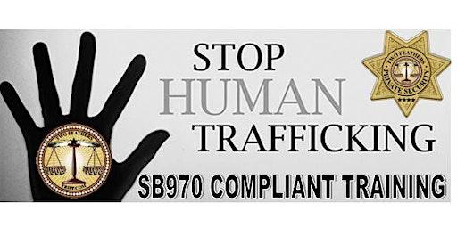 SB970 Human Trafficking Training for Hotel/Hospitality Employees
