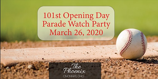 Opening Day Parade Party 2020