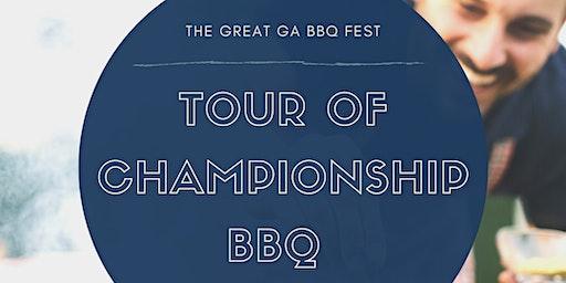 Behind the Scenes Tour - Georgia BBQ Fest
