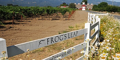 Leap Year Tasting Featuring Frog's Leap Winery