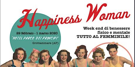 Happiness Woman biglietti