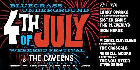 Bluegrass Underground 4th of July Weekend Festival tickets