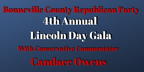 Bonneville County Lincoln Day Gala with Candace Owens tickets