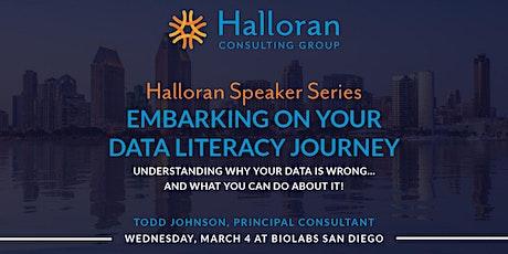 Halloran Speaker Series: Embarking On Your Data Literacy Journey tickets