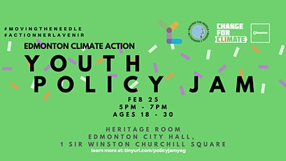 Climate Action Youth Policy Jam: Edmonton tickets