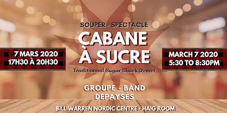 Cabane à Sucre - Sugar Shack tickets