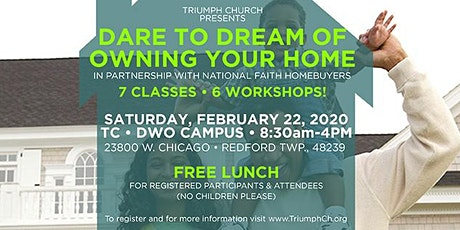 Triumph's Dare to Dream of Home Ownership tickets