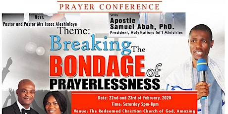 RCCG Amazing Grace Chapel Prayer Conference Hull tickets