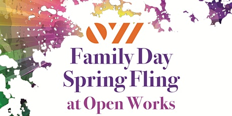 Open Works Family Day Spring Fling tickets