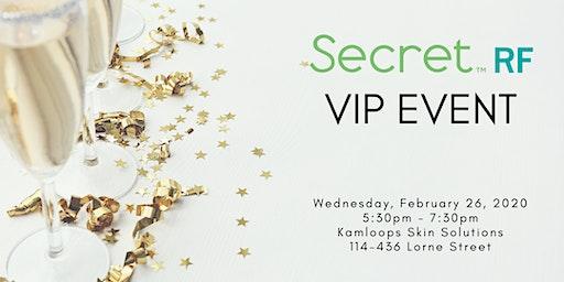 Secret RF VIP Event
