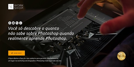 """WS Photoshop Profissional """"Primeira Classe"""" em Belo Horizonte ingressos"""