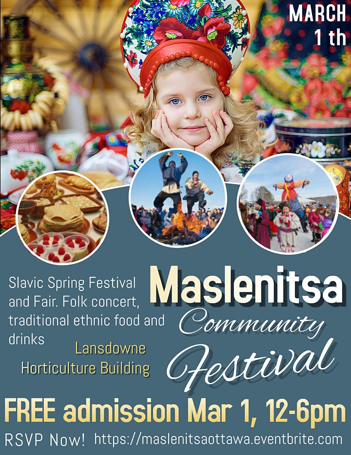 Maslenitsa (Масленица ) Multicultural Eastern European Spring Festival image