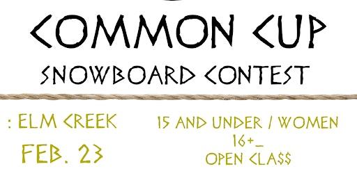 COMMON CUP SNOWBOARD RAIL JAM