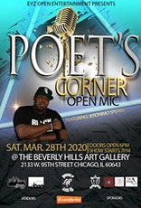 Poet's Corner With Jeronimo Speaks tickets