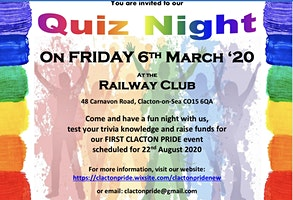 Quiz Night Fundraiser for Clacton Pride