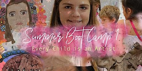 Summer ART Bootcamp 1: Intensive Art week for Kids! tickets