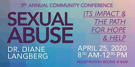 Sexual Abuse: Its Impact & the Path for Hope & Help, Dr. Diane Langberg tickets