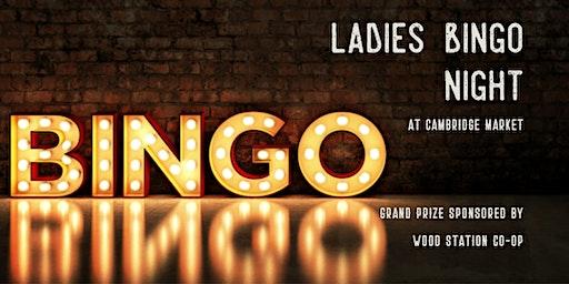 Ladies Bingo Night & Pasta Bar
